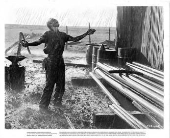 dean giant oil scene