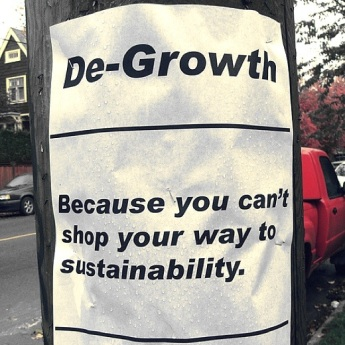 degrowth poster